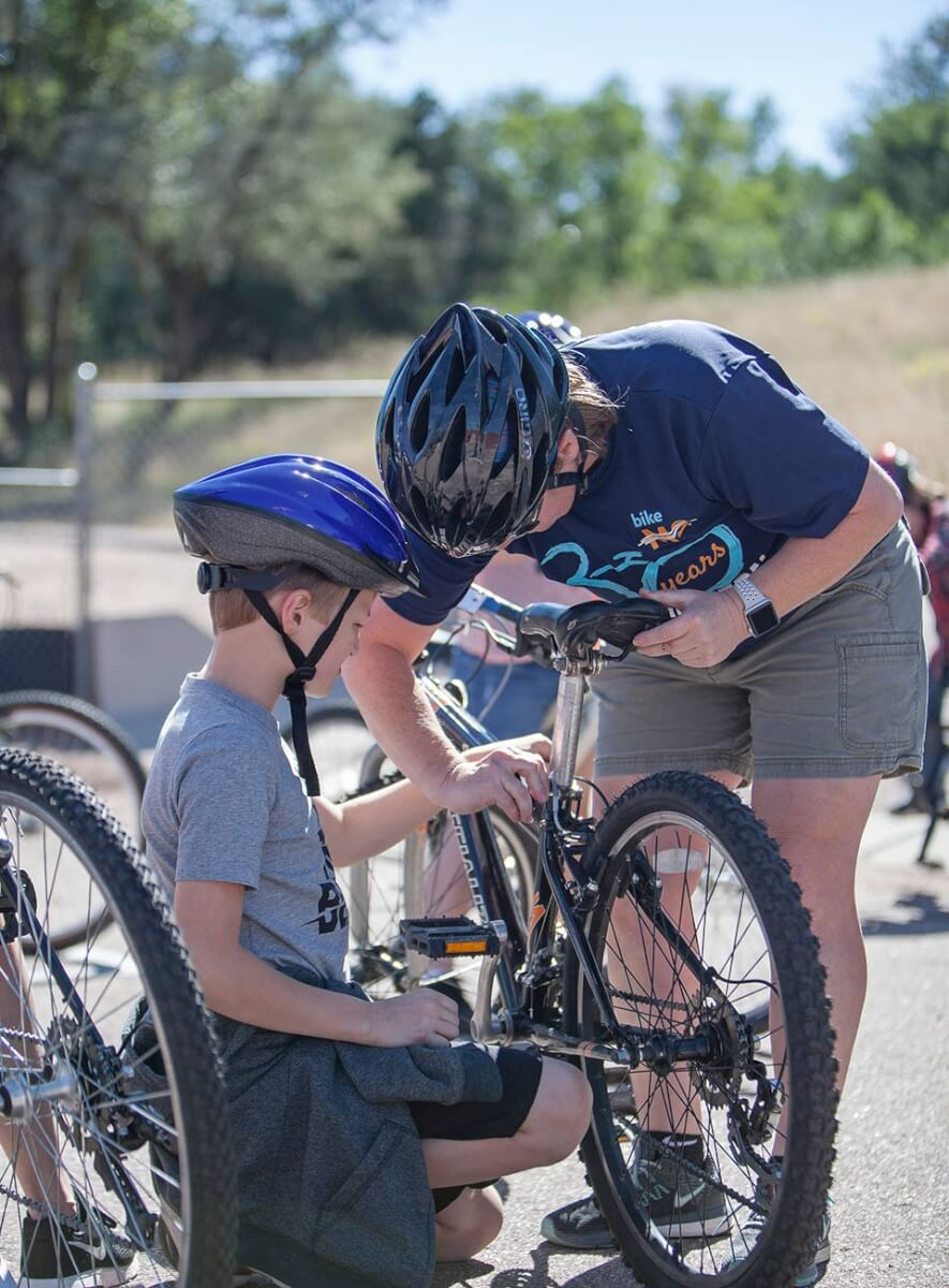 Kids on Bikes Program